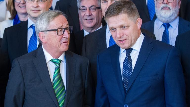 Юнкер очаква историческа среща на лидерите на ЕС в Братислава