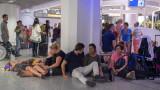 Летището във Франкфурт отменя около 100 полета заради буря Сабине