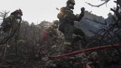 Пожарът в района на Нимфеа в Гърция е овладян