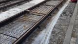 """Найлон вместо хидроизолация по новото трамвайно трасе на """"Донкуков"""""""