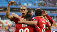 Перу - Дания 0:1, гол на Поулсен!