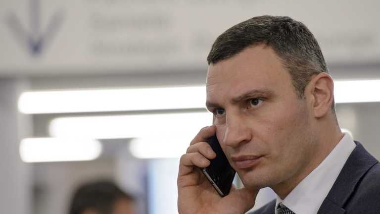 Виталий Кличко направи скандално изказване за двама заразени с коронавирус.