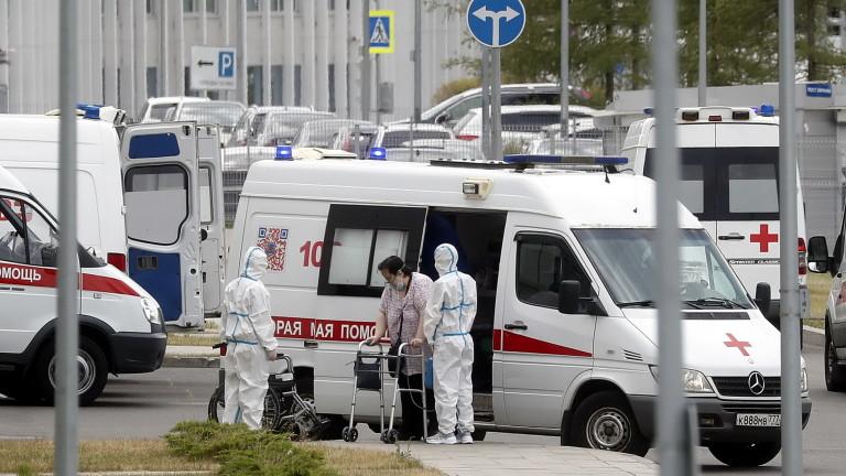 Русия отново близо до рекорда си за починали от COVID-19