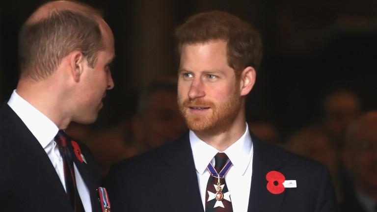 Принц Уилям ще бъде кум на принц Хари