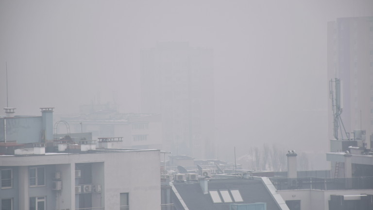Опасно мръсен въздух в София тази вечер