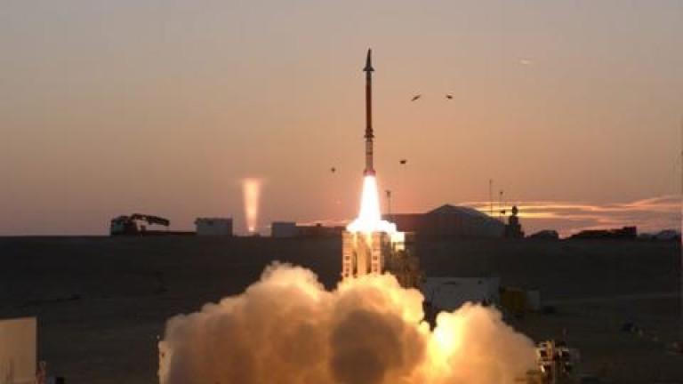 Министерството на отбраната на Израел съобщи, че успешно е завършило