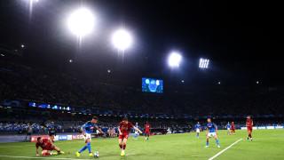 Наполи - Ливърпул 1:0, гол на Мертенс от дузпа