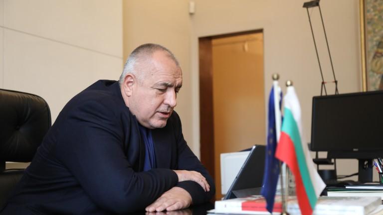 Министър-председателят Бойко Борисов проведе телефонен разговор с президента на Република