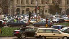 Протест на тираджии и таксиметрови шофьори парализира Букурещ