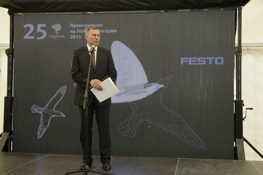 Германският концерн Festo ще инвестира още 25 млн. лв. в България