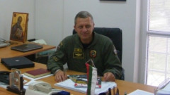 Ген.-майор Цанко Стойков пое командването на ВВС