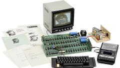 Пускат 40-годишния компютър Apple-1 на търг за £250 000 (ВИДЕО)