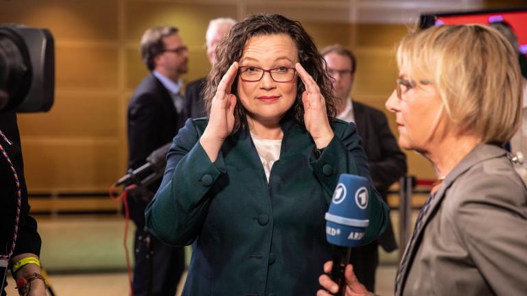 Социалдемократическата партия на Германия не изключи вероятността да напусне коалицията