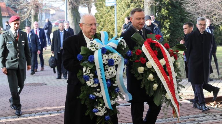 Израел към Полша: Много поляци помогнаха за избиването на евреи през ВСВ