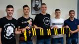 Ботев (Пловдив) подписа професионални договори с петима юноши