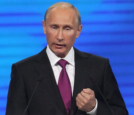 Путин: Западът поощрява Арабската пролет заради търговски интереси