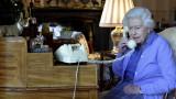 Елизабет II с четвърто телевизионно обръщение към нацията за 68 г.