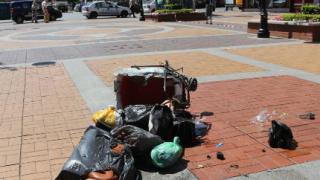 Отцепиха центъра на София за обезвреждане на съмнителна пазарска чанта