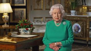 Речта на британската кралица към нацията гледана от повече от 23 млн. зрители