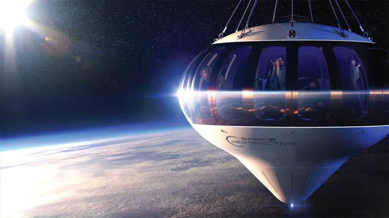 Космически кораб на балон, който да се изкачва толкова високо