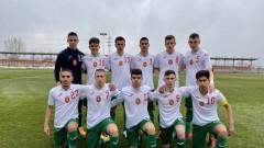 Юношеските национали с равенство срещу Косово