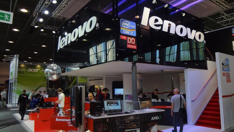 Lenovo излезе начело по глобални продажби на РС