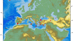 4,5 по Рихтер разлюля о. Крит