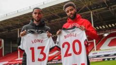 Шефилд Юнайтед привлече двама играчи от Дарби Каунти