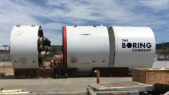 Илън Мъск представи първата част от високоскоростния тунел под Лос Анджелис