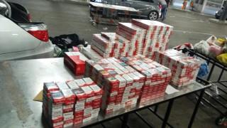 Митничари задържаха близо 16 000 кутии незаконни цигари за месец