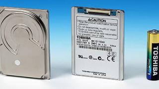 1,8-инчов твърд диск на Toshiba достигна 100GB