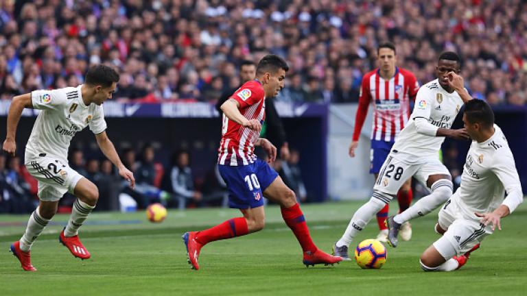 Атлетико - Реал 1:3, попадение на Бейл