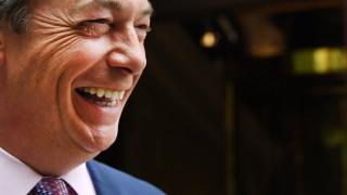 """Партия """"Брекзит"""" на Найджъл Фараж е най-голямата в Европейския парламент"""