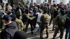 Над 400 са задържаните демонстранти  в Минск