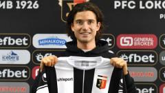 Валентино Пулиезе е футболист на Локомотив (Пловдив)
