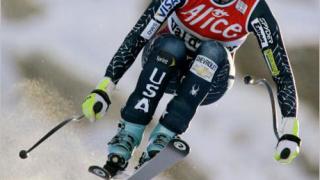 Американка с първа победа в спускането във Вал Д'Изер