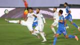 Серхио Рамос вкара от дузпа за победата на Реал срещу Хетафе