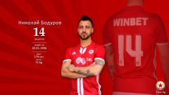 ЦСКА честити на Николай Бодуров