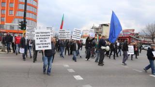 """Горублянци подновяват блокадата на """"Цариградско шосе"""""""
