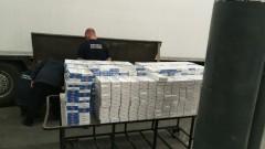 """Пресякоха контрабанда на над 50 000 цигари на МП """"Капитан Андреево"""""""