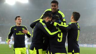 Арсенал спечели групата след разгром над Базел и побутване от Лудогорец