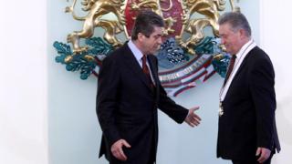Първанов с благодарности към кабинета за ордена на Марин
