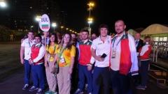 Българският флаг се развя в Олимпийското село