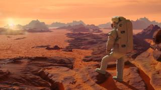 Мистерията с подводните езера на Марс