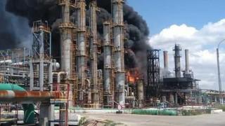 Експлозия разтърси най-голямата петролна рафинерия в Румъния на брега на Черно море