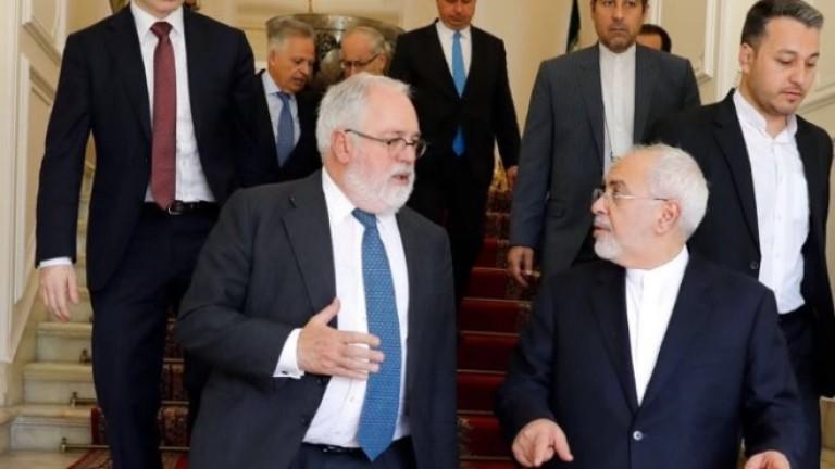 Иран: Подкрепата на Европа за ядрената сделка не е достатъчна