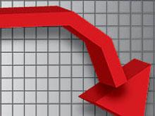 30% спад на производството в добивната промишленост