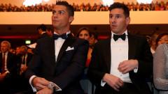 Меси е сложил Кристиано Роналдо в своята челна тройка, португалецът е отсвирил Лео