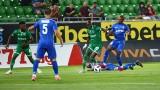 Първа лига се завърна: Верея - Лудогорец, 0:0 (Развой на срещата по минути)