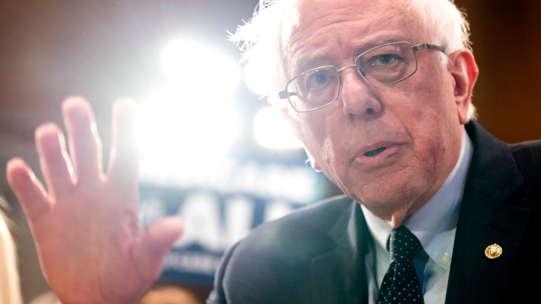 Бърни Сандърс се превърнал в милионер след първата кампания за президент